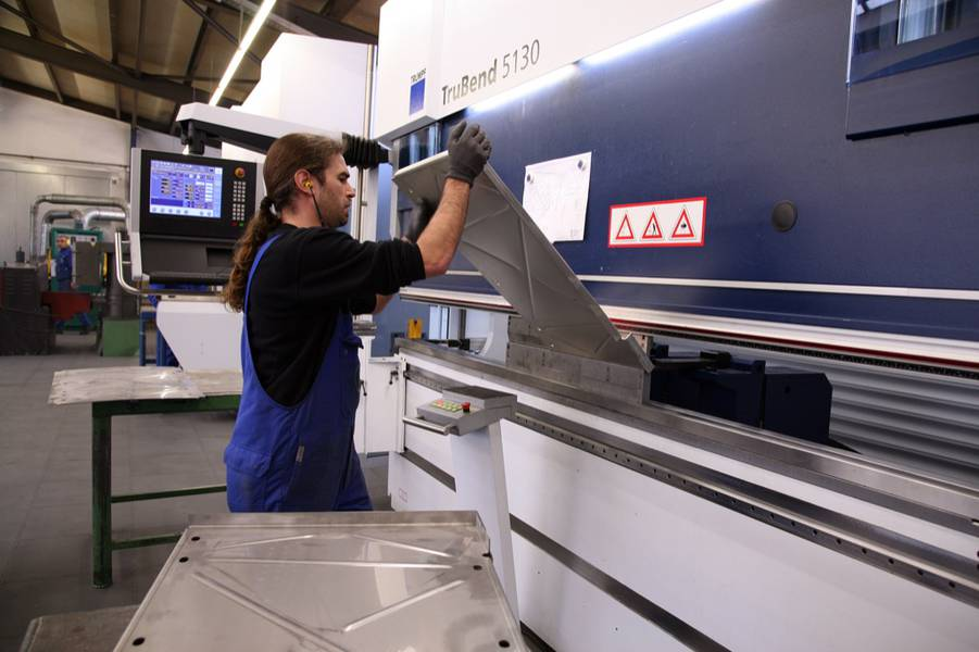 Bending and folding at Bechtold GmbH